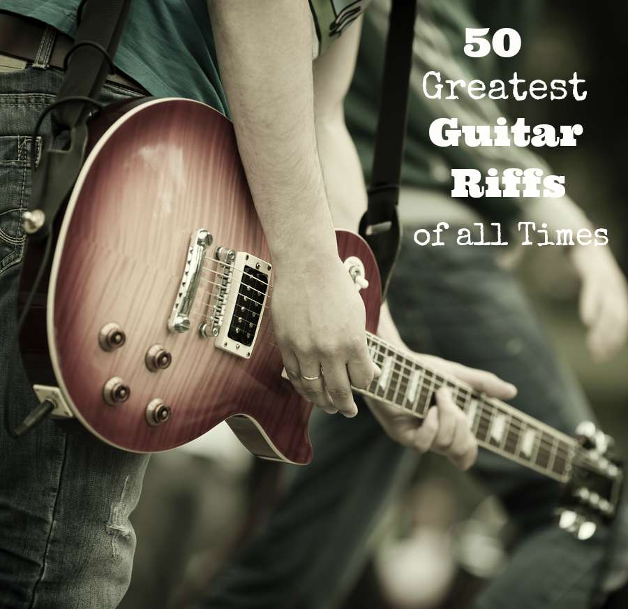 50 greatest guitar riffs of all times