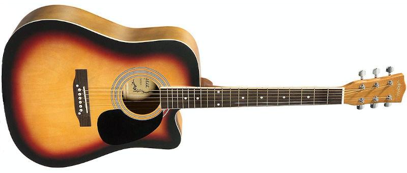 Artall Acoustic Matte Sunset Cutaway Guitar