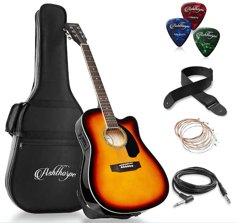 Ashtorpe Thinline Acoustic Electric Guitar