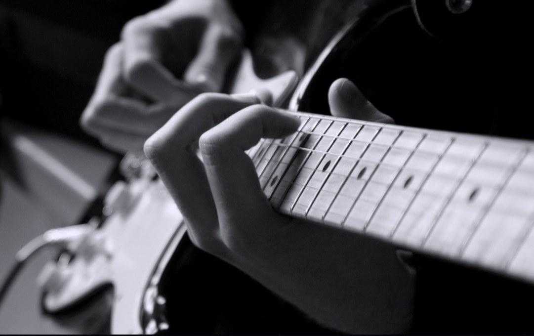 one octave guitar arpeggio