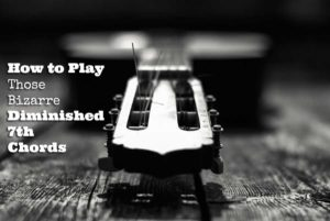 diminished 7th chords