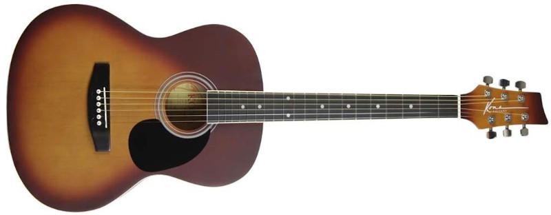 Kona K391-HSB Parlor Acoustic Guitar