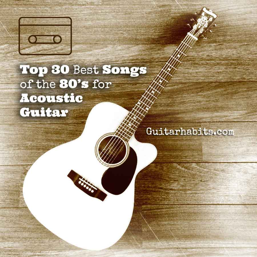 Guitar songs to learn intermediate acoustic guitars