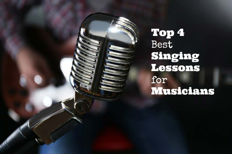 top 4 best singing lessons for musicians