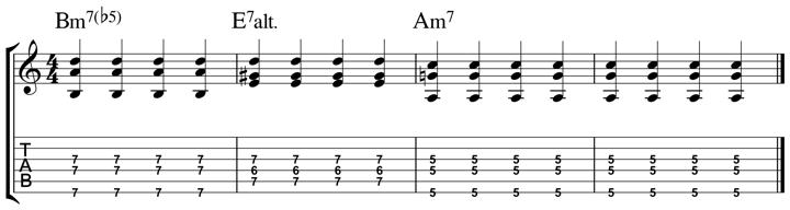 easy jazz chord 10