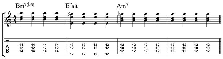 easy jazz chord 11