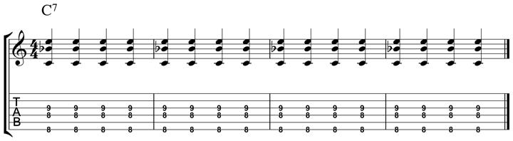 easy jazz chord 5