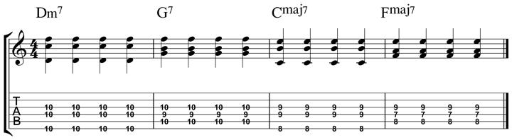 easy jazz chord 6