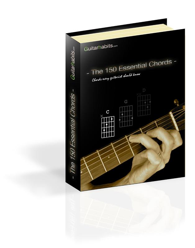 The 150 Essential Chords Free Ebook Guitarhabits
