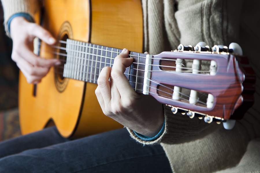 How To Hold A Guitar Proper Posture And Hand Positioning